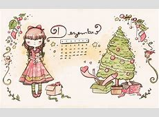 Calendário de Dezembro de 2014 malipi illustration