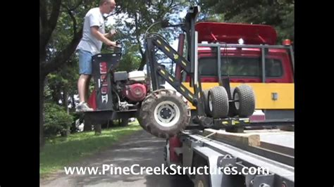 mule v shed mover pine creek structures shed mule delivery