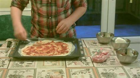 recette de la p 226 te 224 pizza italienne