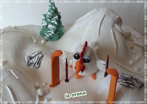g 226 teau poule 224 la neige quot snow chicken quot cake mes petits g 226 teaux rigolos