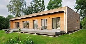 Fertighaus Bungalow Holz : holzbungalow bauen nett wohnen im holzhaus blockbohlenhaus zum selber 47120 haus dekoration ~ Markanthonyermac.com Haus und Dekorationen