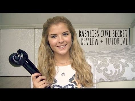 Babyliss Curl Secret Review + Tutorial  Youtube