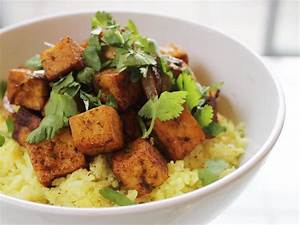 Spicy Stir Fried Tofu With Coconut Rice From 'The New
