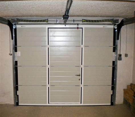 porte de garage avec portillon brico depot tableau isolant thermique