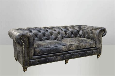 canape chesterfield cuir toulouse design