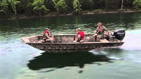 Jet Boat Hunting by Lowe Boats 2015 Roughneck Hunting Fishing Jon Boats