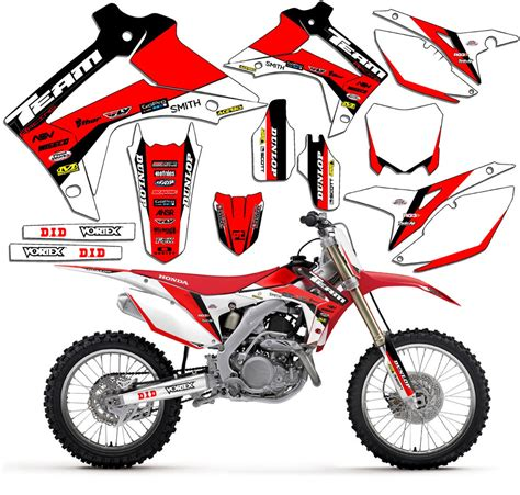 1995 1996 honda cr 250 r graphics kit decals stickers mx deco cr250 cr250r ebay