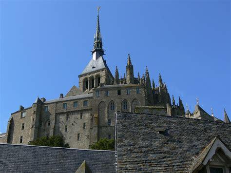 panoramio photo of abbaye du mont michel manche