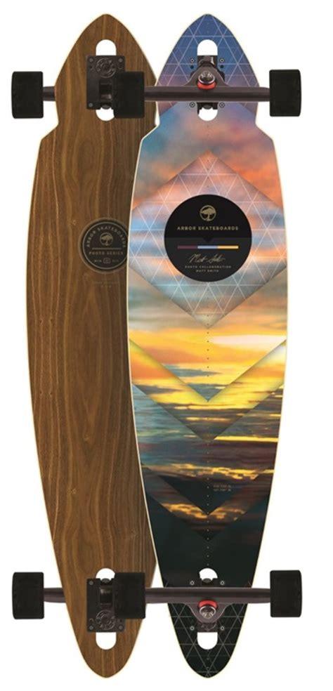 arbor mindstate walnut 2016 longboard deck deck only boards on nord