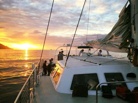 Makani Catamaran Sail Hawaii by Makani Catamaran Sunset Dinner Sail Hawaii Discount