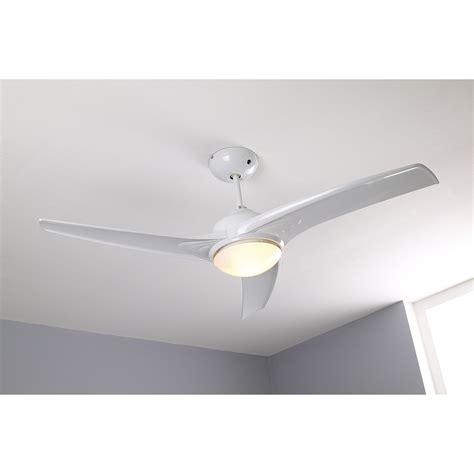 ventilateur de plafond tokyo inspire blanc 2x42 watts leroy merlin