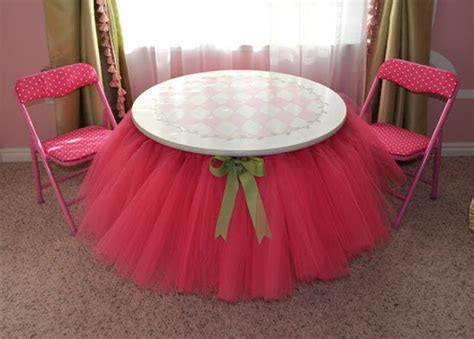 Tutu Table Skirt Ideas  They're Not Just For Little Girls. Stash Desk. White Storage Coffee Table. Seeded Glass Table Lamp. Sunglass Drawer Organizer. Decorative Tray For Coffee Table. Drawer Pulls Cup Style. Herman Miller Coffee Table. Tall Chairs For Standing Desks