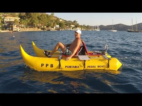 Inflatable Pontoon Boats Youtube by Electric Packable Boat With Inflatable Pontoons Youtube