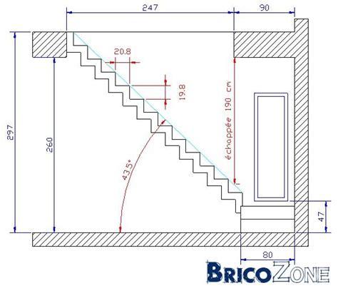 aide calcul escalier palier
