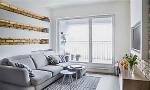 Kleines Wohnzimmer Gestalten : kleine r ume farblich gestalten wandfarbe und m bel ~ Markanthonyermac.com Haus und Dekorationen