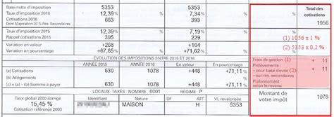 calcul de la taxe d habitation
