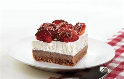 recette dessert estival au chocolat et aux fraises circulaire en ligne