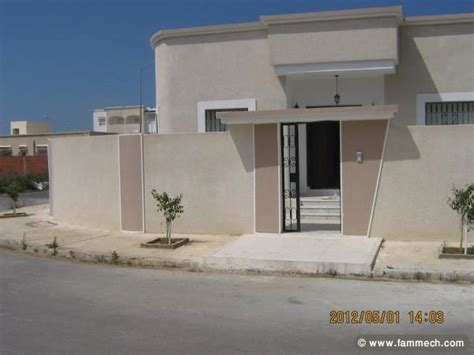 immobilier tunisie vente maison soliman villa s 3 bien achev 233 e entour 233 e d un jardin 3