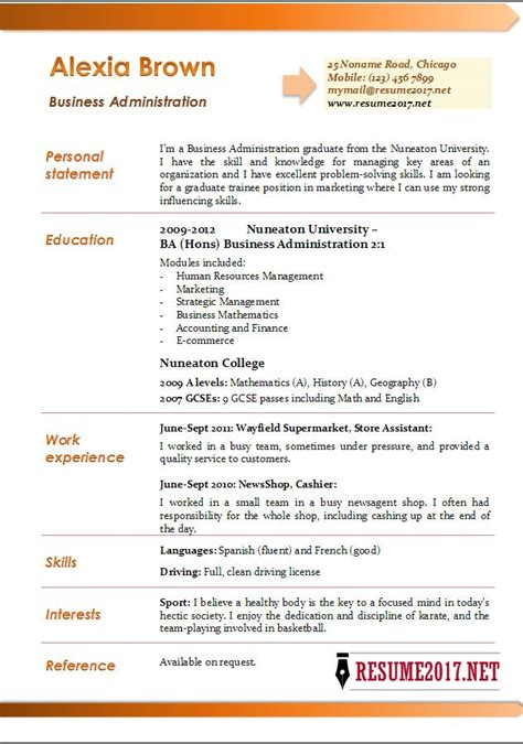 Business Administration Resume  Resume Sample. Resume Sample Accounting. Resume Memberships. Complete Resume Format Download. How To Write A Resume Without Job Experience. Sample Resume For A Highschool Student With No Experience. How To Create A Resume For Job Application. Sample Resumes Nurses. Construction Site Supervisor Resume Sample