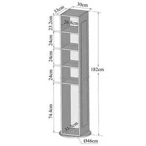 colonne pivotante salle de bain 5 niches 1 miroir blanc 6120a2100 x00 achat vente
