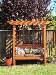 Pergola Mit Bank : arbors benches on pinterest arbors bench swing and garden arbor ~ Markanthonyermac.com Haus und Dekorationen