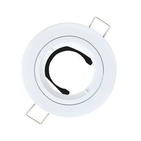 anneau pour spot 224 encastrer fixe sans oule gu10 blanc leroy merlin