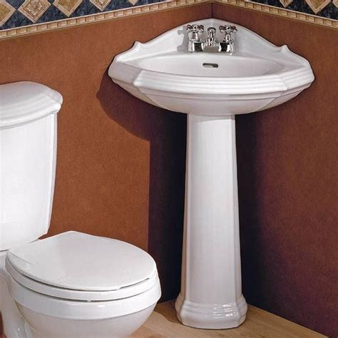 best 20 corner pedestal sink ideas on