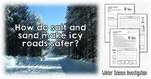 Corkboard Connections: Investigating How to Make Icy Roads ...