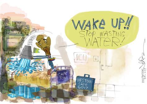 Wake Up!! Stop Wasting Water!