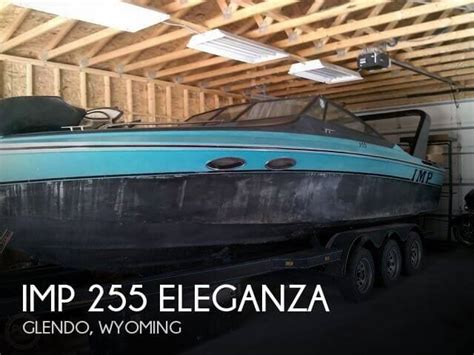 Pontoon Boats For Sale Wyoming by For Sale Used 1989 Imp 255 Eleganza In Glendo Wyoming