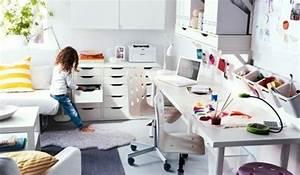 Schreibtisch Kinderzimmer Ikea : gute ordnung im kinderzimmer mit praktischen ideen von ikea ~ Markanthonyermac.com Haus und Dekorationen