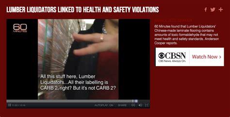 lumber liquidators 60 minutes story the price versus quality equation in flooring