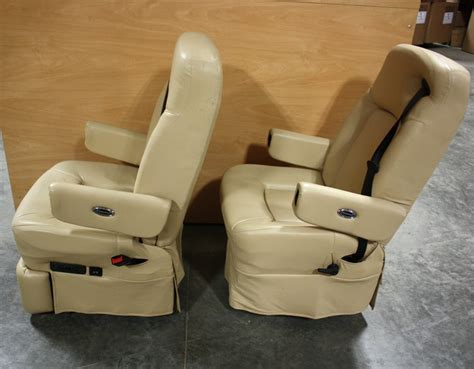 rv furniture used leather flexsteel captain chair set for sale rv captains chairs flexsteel
