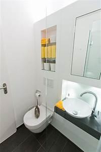 Gäste Wc Renovieren : ideen f r kleine b der g ste wc mit dusche modern badezimmer hamburg von baqua ~ Markanthonyermac.com Haus und Dekorationen