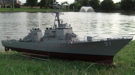 Rc Boats Huge huge rc ready to run arleigh burke destroyer the scale