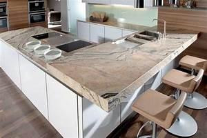 Arbeitsplatte Küche Stein : arbeitsplatte kuche holz oder granit ~ Markanthonyermac.com Haus und Dekorationen