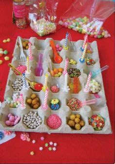 saliere deco table anniversaire could make these like paper fortune tellers misc