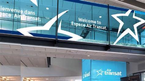 espace air transat opens at montreal trudeau travelpulse