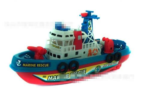 Electric Fire Boat by Fire Boat Electric Boat Model Children Electric Toy Boat