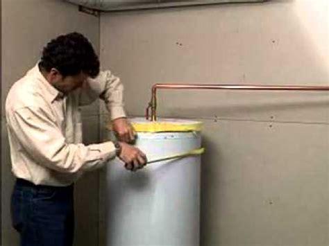 installation de couverture isolante pour chauffe eau
