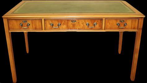 bureau anglais hepplewhite en bois de merisier longfield 1880