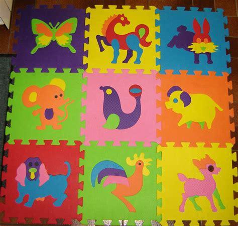 tapis puzzle en mousse
