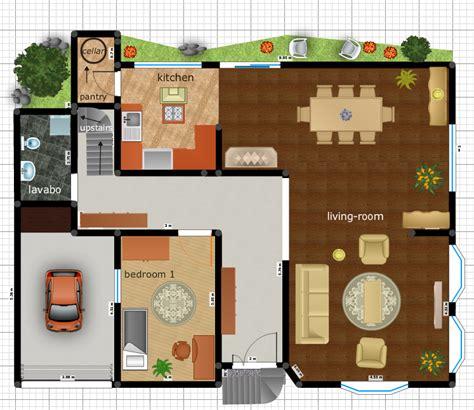 plan maison interieur gratuit