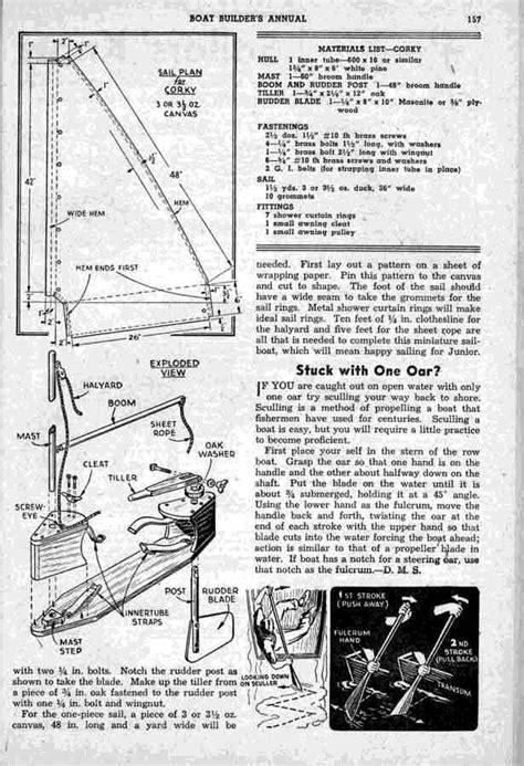 Inner Tube Sailboat by Corky The Sailing Inner Tube