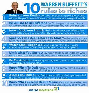 Warren Buffett's 10 Rules to Riches - Being Investor ...