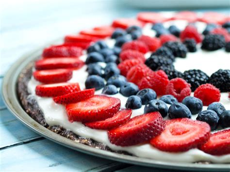 easy healthy fruit dessert pizza happy healthy