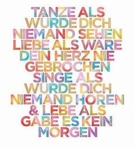 Poster Mit Sprüchen : poster texte gedichte zitate spr che auf dies und das part 3 ~ Markanthonyermac.com Haus und Dekorationen