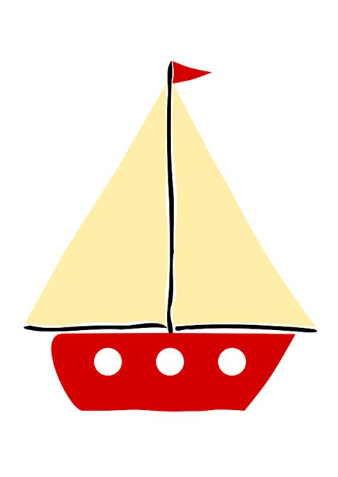 Red Boat Clipart by Red Sail Boat 1 Clipart Panda Free Clipart Images