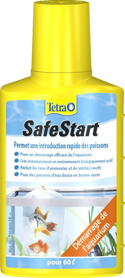 tetra safestart 50 ml bact 233 ries pour un d 233 marrage rapide votre aquarium d eau douce