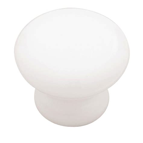 home depot dresser knobs liberty 1 1 4 in white ceramic cabinet knob p95702c